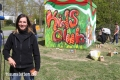 swa Graffiti-Projekt mit FCA-KidsClub und Alfred Finnbogason am 21.04.2017