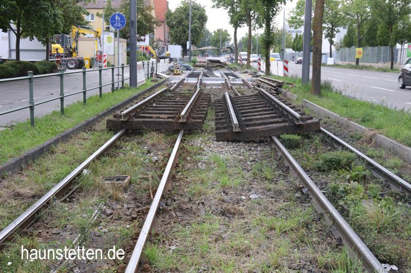 Linie 2 Haunstetten