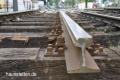 Austausch der Gleise Linie 2 Haunstetten