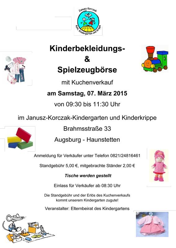 Kinderbekleidungs spielzeugborse mit kuchenverkauf for Küchenverkauf