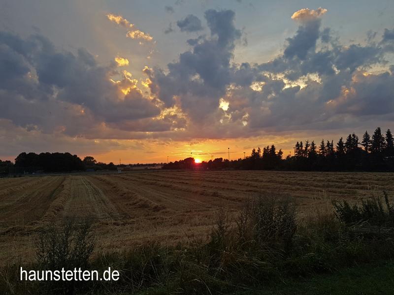 Haunstetten Abendstimmung 2017-07-18
