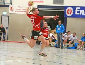 TSV Haunstetten - Neckarsulmer SU, Handball, 2. Bundesliga, Frau