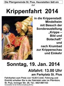 Krippenfahrt 2014 - St. Pius