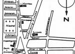 Straßenplan der Gemeinde Haunstetten_1938