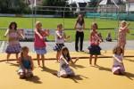 """Auftritt: Aerobic und Tanzgruppe 1 mit  Sommertanz auf """"Nossa"""""""